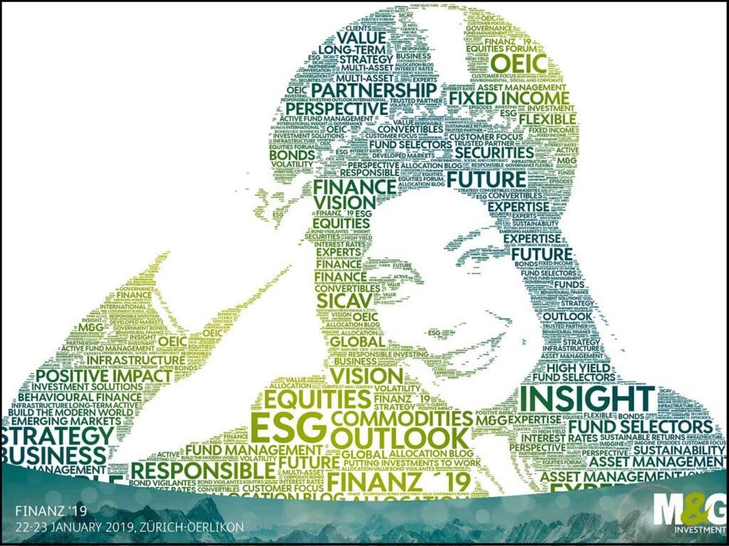 Animation Nuage de Mots : Le portrait réalisé avec les mots choisis par le client