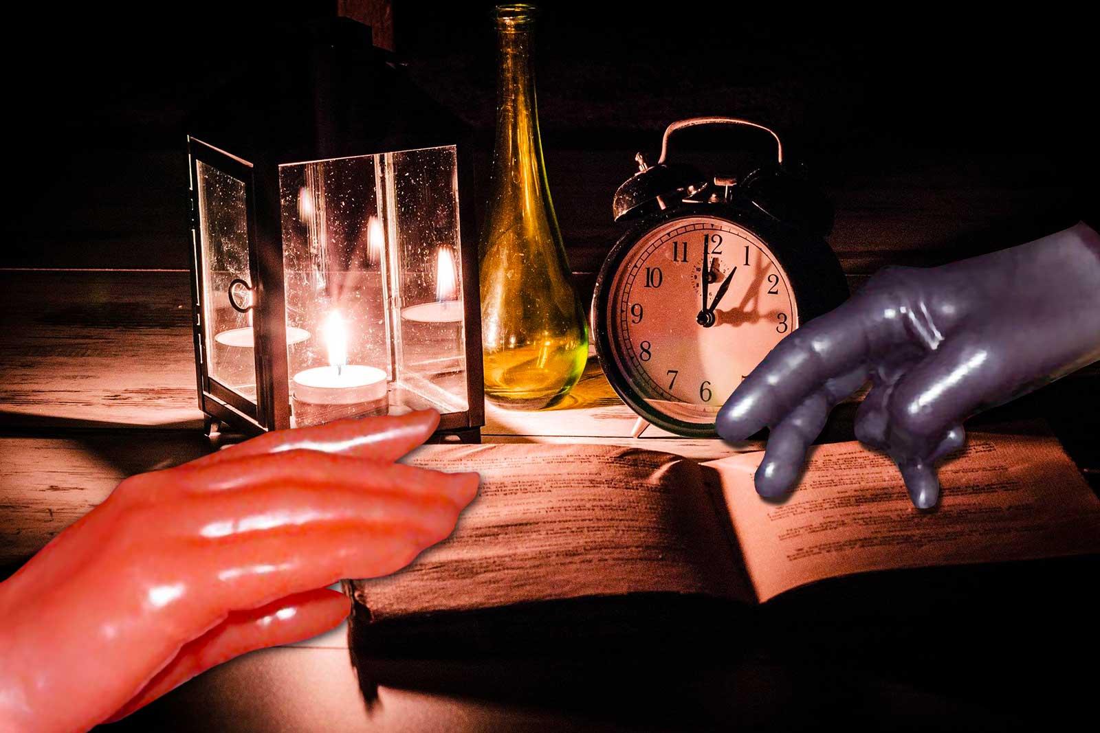 Animation artistique : Sculpture de la main en cire
