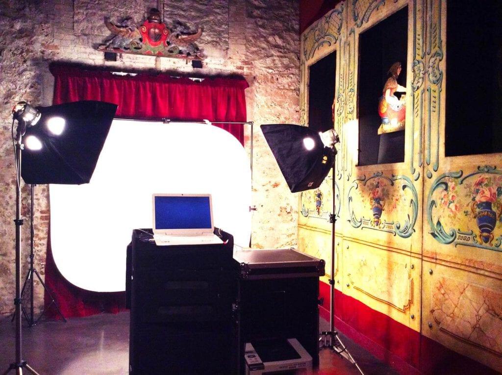 Animation Flipbook : Studio installé au Musée des Arts Forains à Paris
