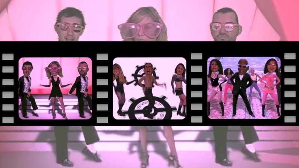 Animation video incrustation sur fond vert : 3 clips video réalisés par Dance Heads